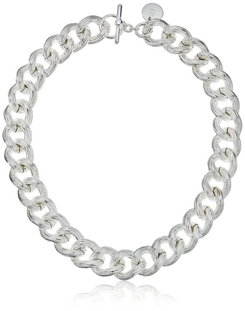 Plated Textured Twisted Link Chain Necklace by Uno Aerre in The Mick - Season 1 Preview