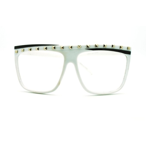 Studded Flat Top Glasses by Juicy Orange in Alvin and the Chipmunks: The Road Chip