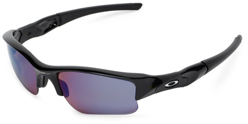 Flak Jacket Polarized Sport Sunglasses by Oakley in Everest