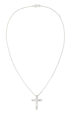 Branded Cross Pendant Necklace by Gucci  in Scarface