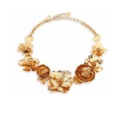Bold Flower Necklace by Oscar de la Renta in Scream Queens