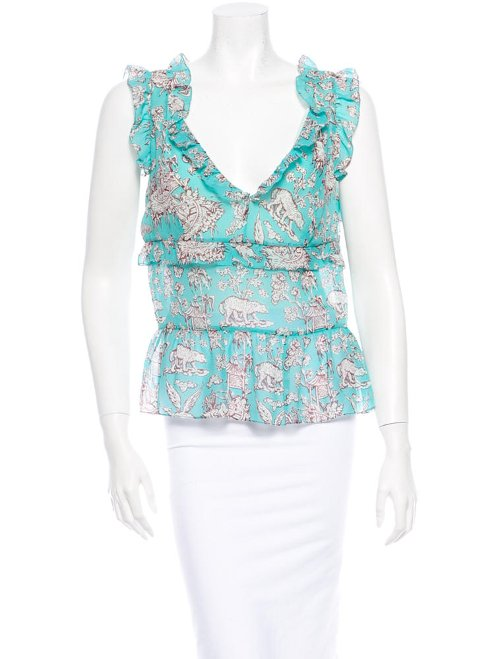 Silk Blouse by Cacharel in Crazy, Stupid, Love.