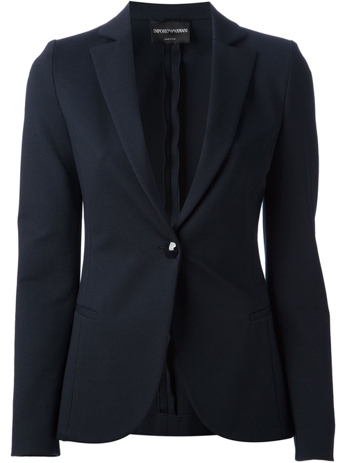 Tailored Blazer by Emporio Armani in Blackhat
