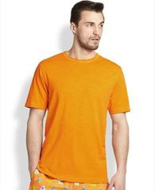 Slub Crewneck Tee by Saks Fifth Avenue Collection in Top Five