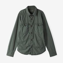 Poplin Multi-pocket Jacket by Save Khaki in Empire