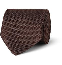 Textured Woven-Silk Tie by Charvet in Unbroken