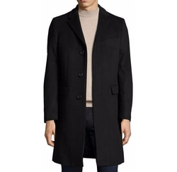 Single-Breasted Tailored Coat by Burberry in Empire