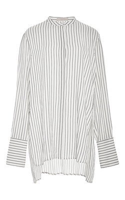 Cotton Stripe Bee Blouse by Brock Collection in Scandal