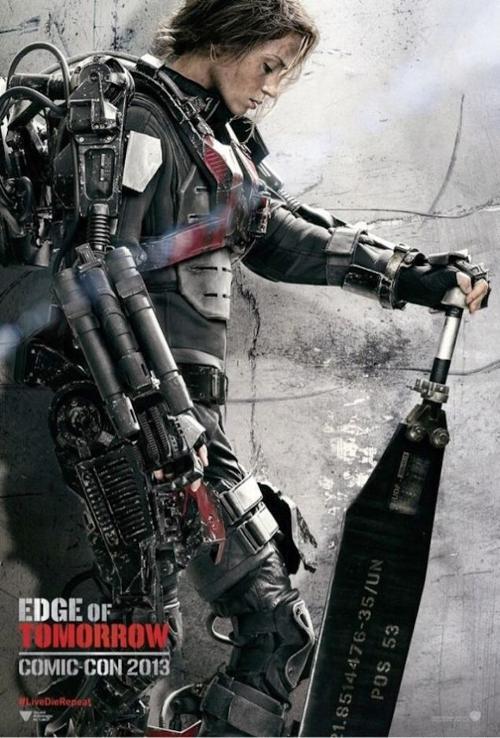 Custom Made Power Armor Suit (Rita Vrataski) by Kate Hawley (Costume Designer) in Edge of Tomorrow