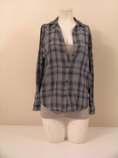 Flannel Button-Down Shirt by BDG in Warm Bodies