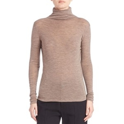 Cowlneck Wool Knit Top by Vince in Suits