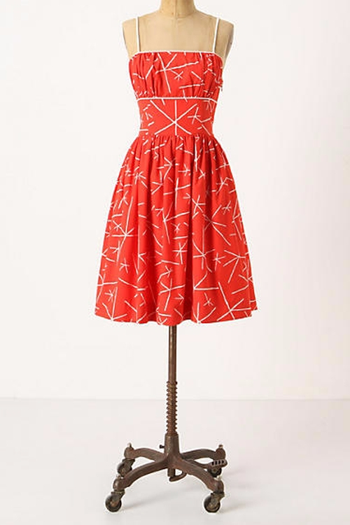 Nostalgic Asterisks Dress by Girls From Savoy in New Girl - Season 5 Episode 11