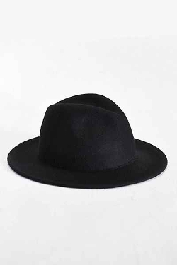 Rosin Wide Brim Felt Fedora Hat by Urban Outfitters in Magic Mike XXL