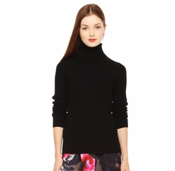 Ribbed Knit Turtleneck by Joe Fresh in The Boss
