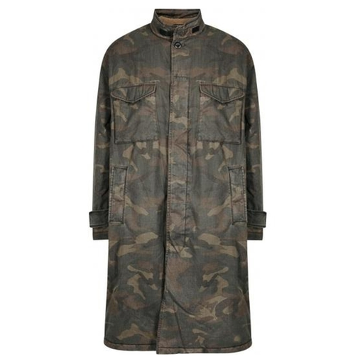 Camouflage Coat by Yeezy in Keeping Up With The Kardashians - Season 13 Episode 5