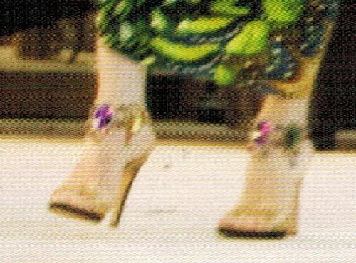 Embellished Ankle Sandal by Rene Caovilla in Sex and the City 2