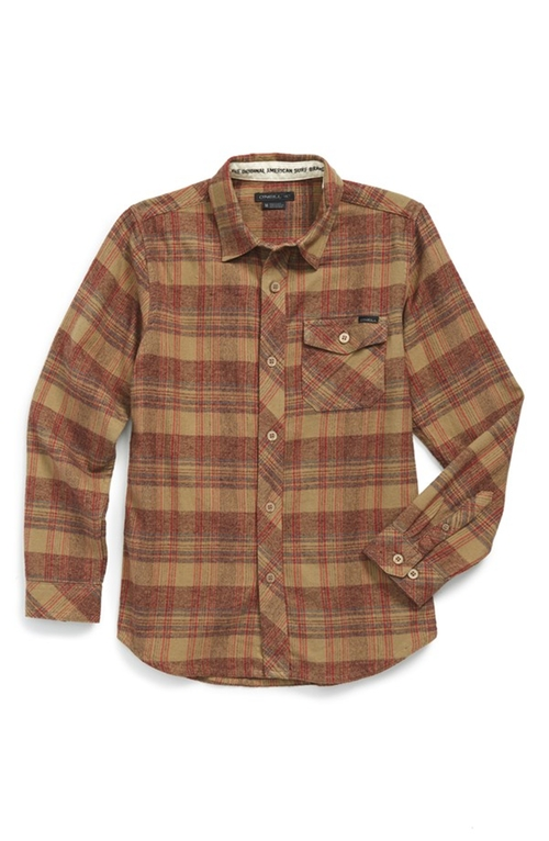 'Palisade' Long Sleeve Plaid Shirt by O'Neill in Harry Potter and the Deathly Hallows: Part 2