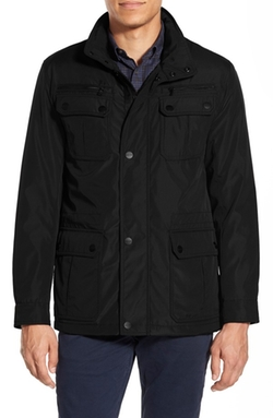 Elgin Hidden Hood Field Jacket by Michael Kors in The Good Wife