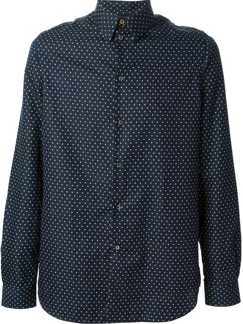 Polka Dot Dress Shirt by Paul Smith in Pitch Perfect 2