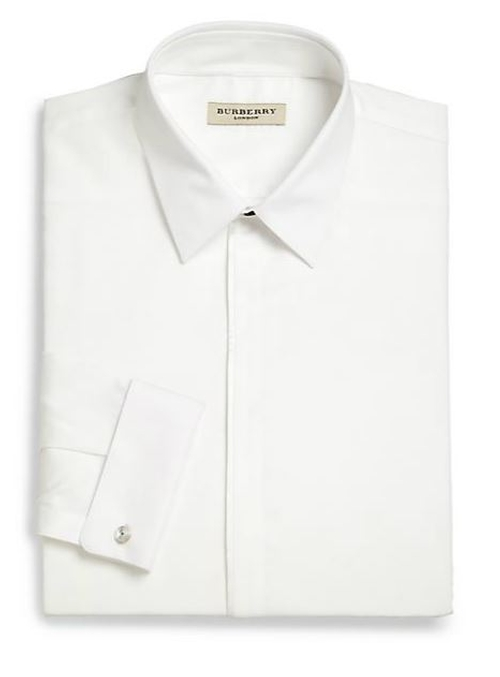 Slim-Fit Tuxedo Shirt by Burberry London in Life