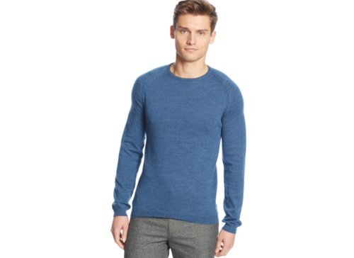 Raglan Crew-Neck Sweater by Calvin Klein in That Awkward Moment