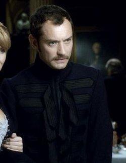 Custom Made Long Wool Coat by Jenny Beavan (Costume Designer) in Sherlock Holmes: A Game of Shadows