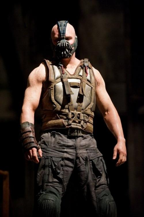 Custom Made Metal Plate Vest (Bane) by Lindy Hemming (Costume Designer) in The Dark Knight Rises