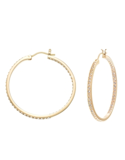 Hoop Earrings by Swarovski in Love the Coopers