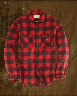 Buffalo Plaid Sport Shirt by Ralph Lauren in Horrible Bosses 2