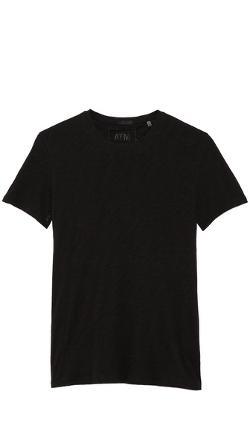 Crew Neck Slub Jersey T-Shirt by ATM Anthony Thomas Melillo in Safe House