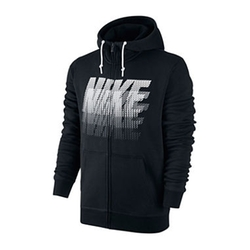 Club Power Streak Full-Zip Hoodie by Nike in New Girl