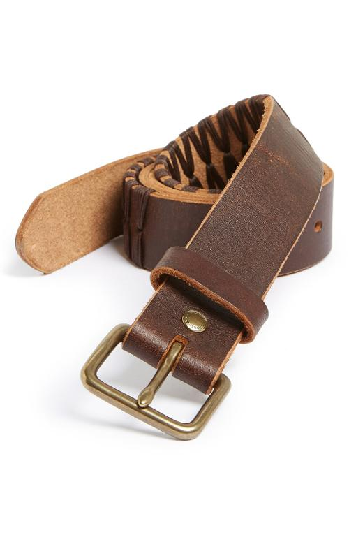 Cord Leather Belt by Caputo & Co in No Strings Attached