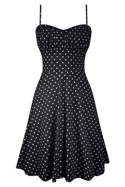 Polka Dot Swing Dress by Double Trouble in Pretty Little Liars
