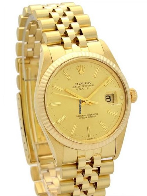 Oyster Perpetual Date Watch by Rolex in The Town