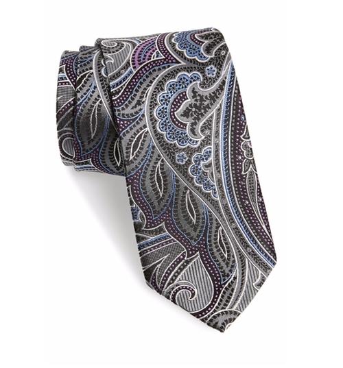 Paisley Silk Tie by J.Z. Richards in Gossip Girl - Series Looks
