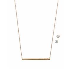 Pendant Necklace by Michael Kors in Suits