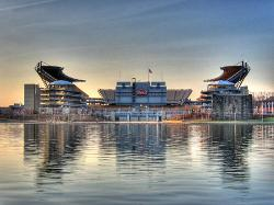 Pittsburgh, Pennsylvania by Heinz Field in The Dark Knight Rises