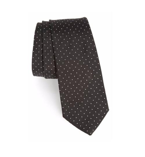 Dot Silk Skinny Tie by Paul Smith in Kingsman: The Secret Service