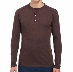 Sanders Henley Shirt by Billy Reid in New Girl
