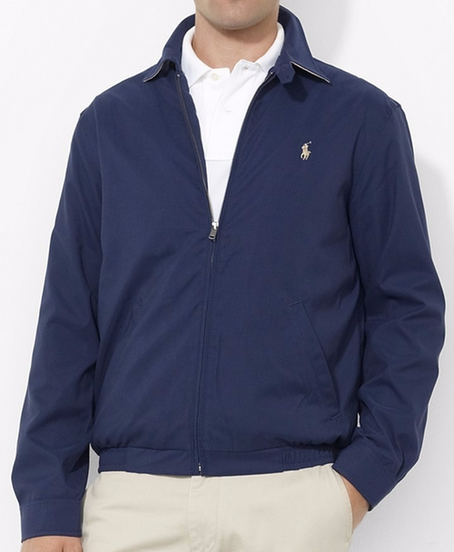 Basic Windbreaker Jacket by Polo Ralph Lauren in House of Cards - Season 4 Episode 1