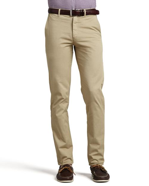 Stretch Chino Pants, Beige by Theory in Wish I Was Here