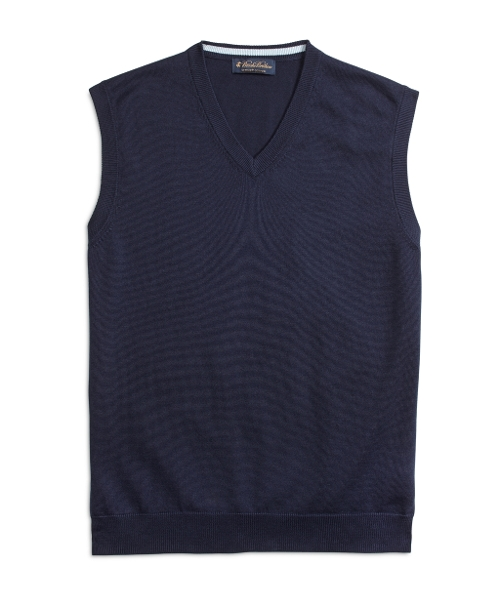 Supima Cotton Vest by Brooks Brothers in Silver Linings Playbook