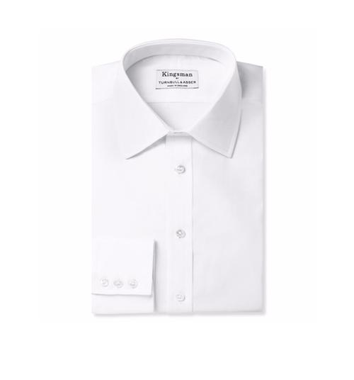 Cotton Royal Oxford Shirt by Kingsman + Turnbull & Asser in Kingsman: The Secret Service