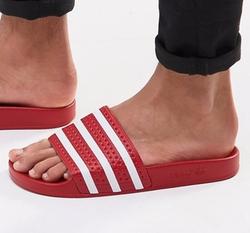 'Adilette' Sliders by Adidas Originals in Ballers