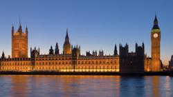 London, United Kingdom by Big Ben in Fast & Furious 6
