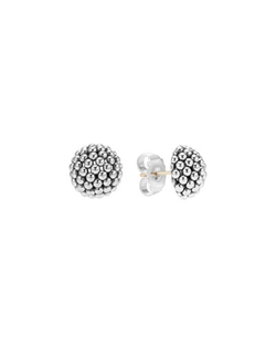 Bold Caviar Small Stud Earrings by Lagos in Bridesmaids
