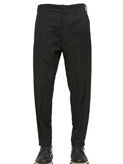 Wool & Viscose Gabardine Trousers by Ann Demeulemeester in A Good Day to Die Hard