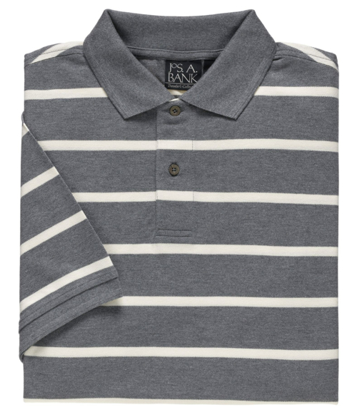 Classic-Fit Striped Polo Shirt by Ralph Lauren in Crazy, Stupid, Love.