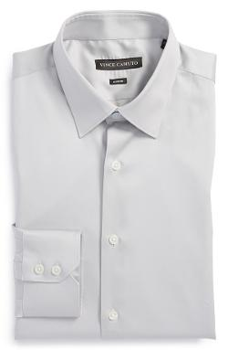 Modern Fit Solid Dress Shirt by Vince Camuto in Wish I Was Here