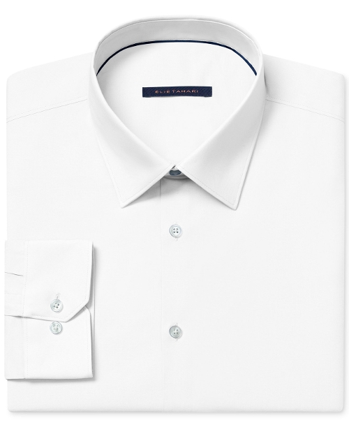 Solid Dress Shirt by Elie Tahari in Absolutely Anything